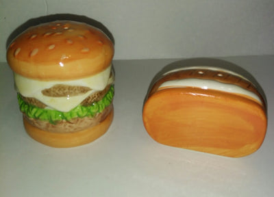 Hamburger Hot Dog Salt n Pepper Shakers - We Got Character