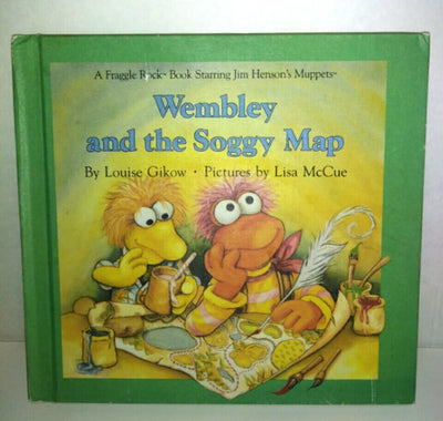 Wembly and The Soggy Map (Fraggle Rock) By Louise Gikow-We Got Character