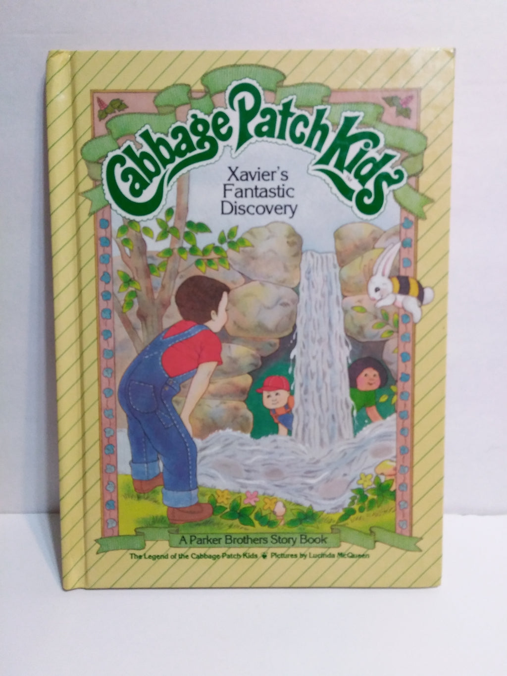 Cabbage Patch Kids HC Book Xavier's Fantastic Discovery-We Got Character