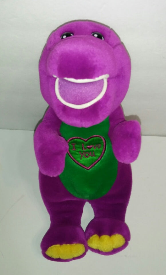 Barney I Love You Singing Plush We Got Character