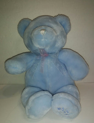 Animal Alley Baby Blue My 1st Teddy Bear-We Got Character