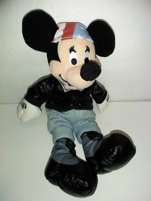 Biker Minnie Mouse Bean Bag Plush - We Got Character