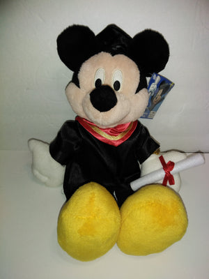 Mickey Mouse Graduation Plush Stuffed Animal - We Got Character