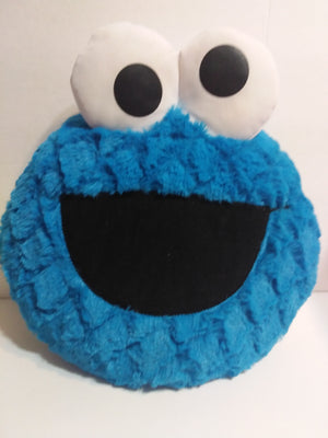 Sesame Street Cookie Monster Talking Plush Pillow By Hasbro - We Got Character