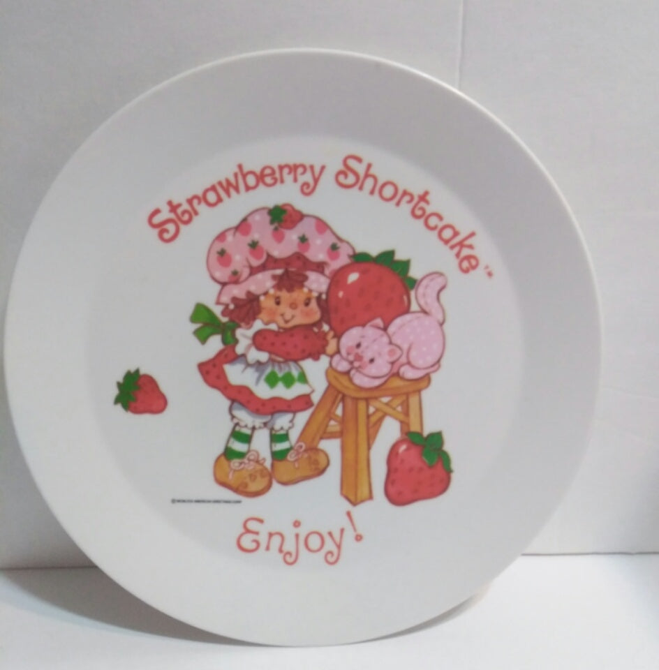 American Greetings Strawberry Shortcake Plate - We Got Character