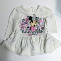 Disney Baby Minnie Mouse 6/9 M Shirt / Dress-We Got Character