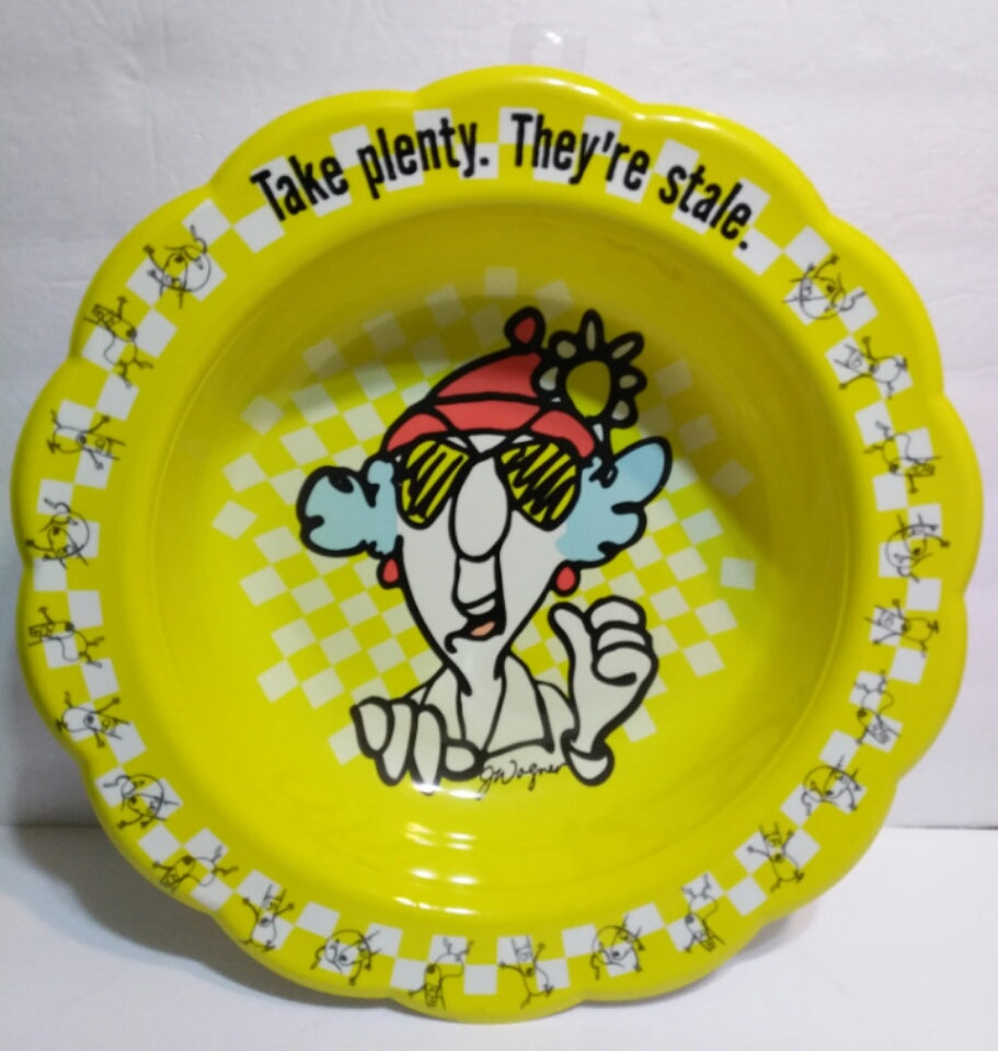 Maxine Candy Dish Bowl-We Got Character