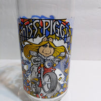 McDonald's Glass The Great Muppet Caper Miss Piggy-We Got Character