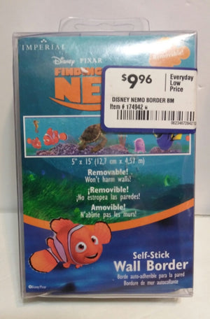 Finding Nemo Self Stick Wall Border - We Got Character