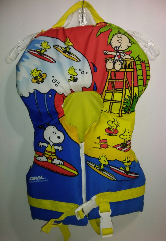 Snoopy Peanuts Life Vest-We Got Character