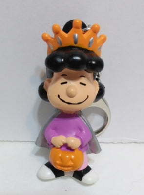Peanuts Lucy Halloween Keychain Zipper Pull - We Got Character