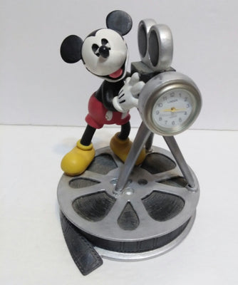 Mickey Mouse Movie Theme Figurine with Clock - We Got Character