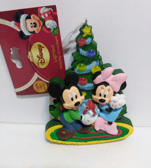 Disney Lighted  Mickey & Minnie Mouse Ornament - We Got Character