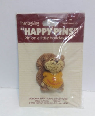 Hallmark Thanksgiving Happy Pins - We Got Character