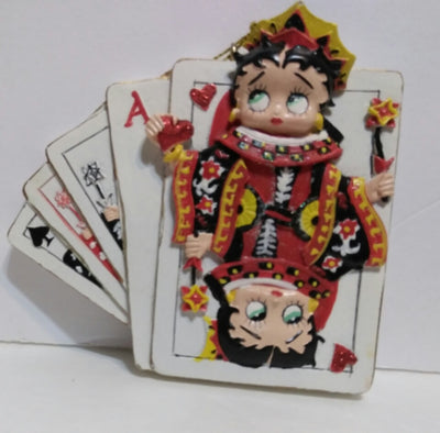 Betty Boop Playing Cards Ornament-We Got Character