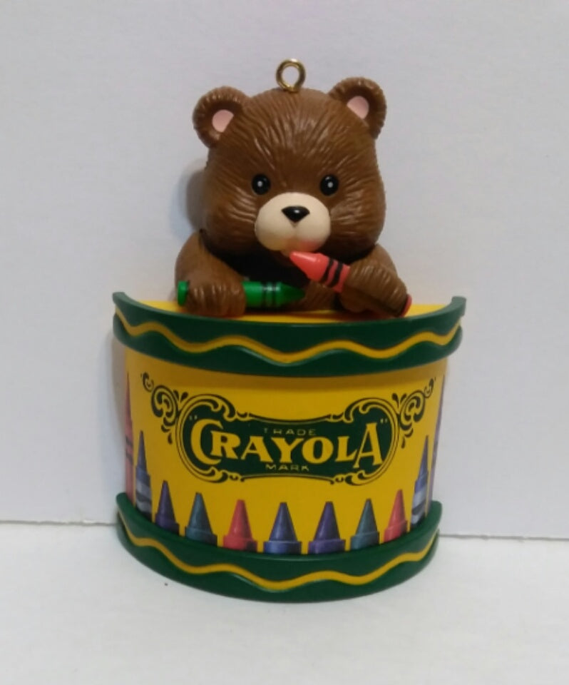 Crayola Crayon Ornament-We Got Character