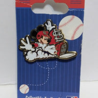Mickey Mouse St. Louis Cardinals Pin - We Got Character