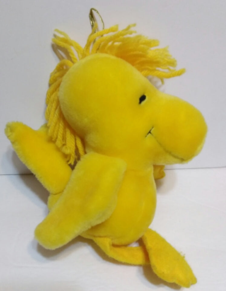 Peanuts Chirping Woodstock Plush Toy We Got Character