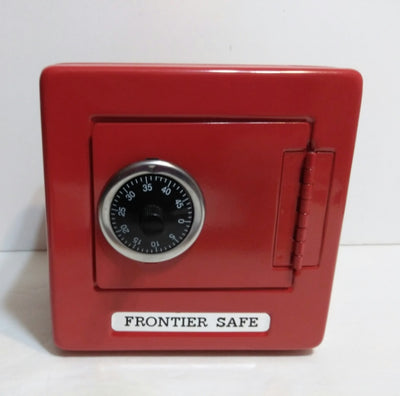 Red Metal Safe Frontier Combination Bank - We Got Character