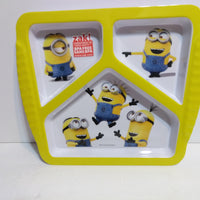 Despicable Me Minions Divided Plate - We Got Character