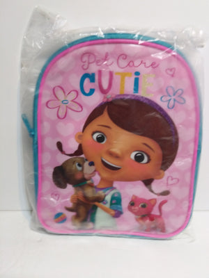 Doc McStuffins Toddler Tote Bag Backpack - We Got Character