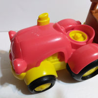 Fisher Price Little People Tow & Pull Tractor N Trailer Sings & Talks