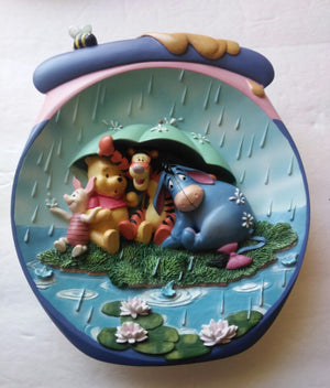 It's Just A Small Piece of Weather Winnie The Pooh Plate - We Got Character