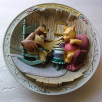 Many Happy Returns of The Day Winnie The Pooh Plate - We Got Character
