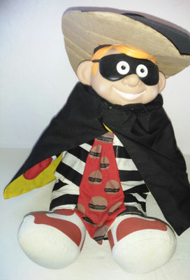 1987 McDonald's Hamburglar Doll - We Got Character
