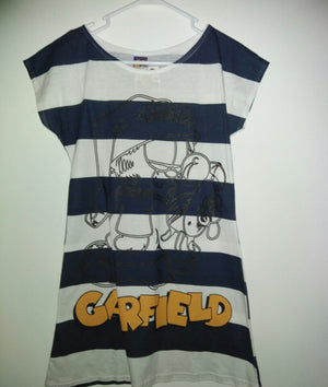 Garfield Striped Blouse Nightshirt - We Got Character