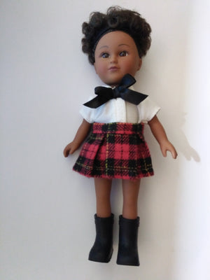 My Life As A School Girl Mini Doll African American - We Got Character