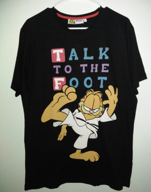 Garfield T Shirt Talk To The Foot - We Got Character