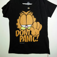 Garfield T Shirt Don't Panic-We Got Character
