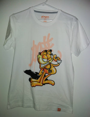 Garfield White T Shirt - We Got Character