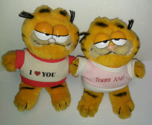 Garfield Plush Lot of 2 - We Got Character