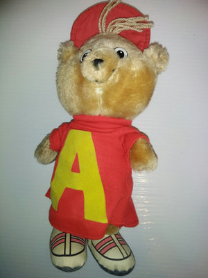 "1983 CBS Alvin & The Chipmunks Alvin 11"" Plush-We Got Character"