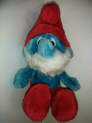 1979 Peyo & Wallace Papa Smurf plush - We Got Character