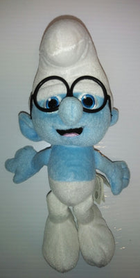 2013 Kelly Toys Brainy Smurf Plush - We Got Character