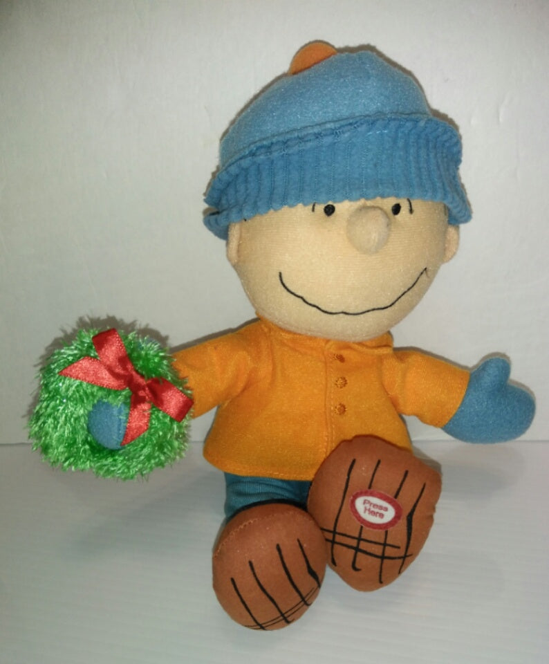 Hallmark Talking Linus Christmas Plush - We Got Character