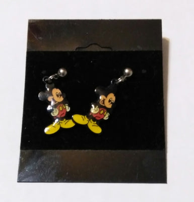 Mickey Mouse Dangle Stud Post Earrings - We Got Character