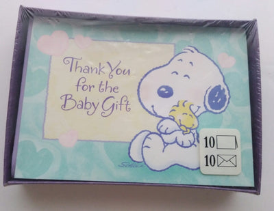 My Little Snoopy Thank You Cards Hallmark - We Got Character