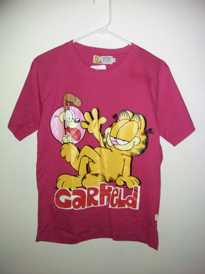 Garfield Odie Pink T-Shirt - We Got Character