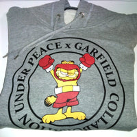 Garfield Under Peace Sweatshirt with Hood