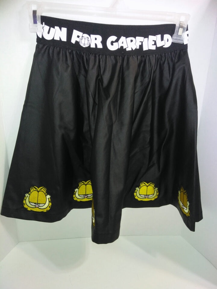 Fun For Garfield Black Skirt - We Got Character