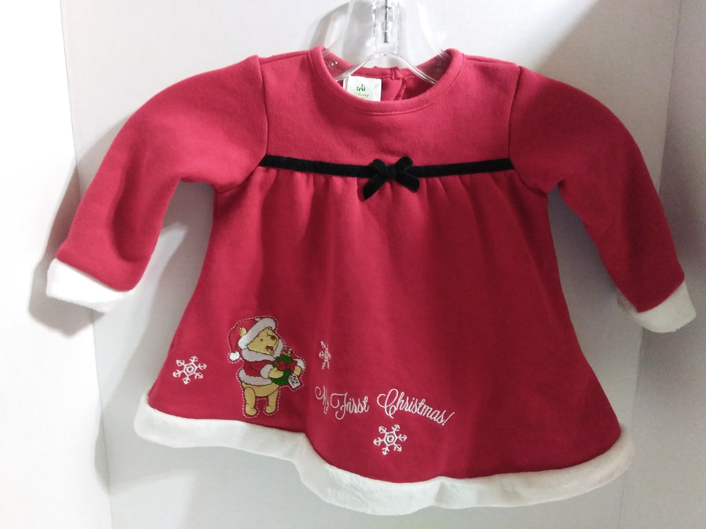 Disney Baby Winnie the Pooh Christmas Dress-We Got Character