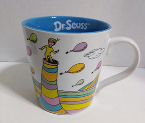 Dr. Seuss Oh the Places 12 Oz. Ceramic Mug - We Got Character