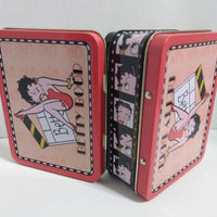 Betty Boop Collector Tin Storage Box with handle