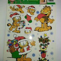 Garfield Christmas Holiday Magic Clings-We Got Character
