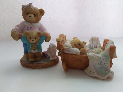 Lot of Two Cherished Teddies By Priscilla Hillman-We Got Character