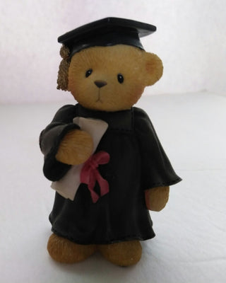Cherish Teddies Graduate Avon Exclusive Figurine